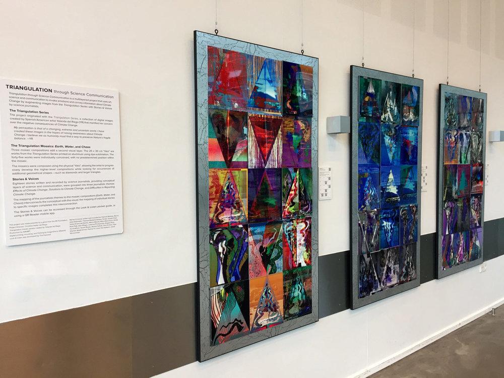 The Triangulation Series Mosaics
