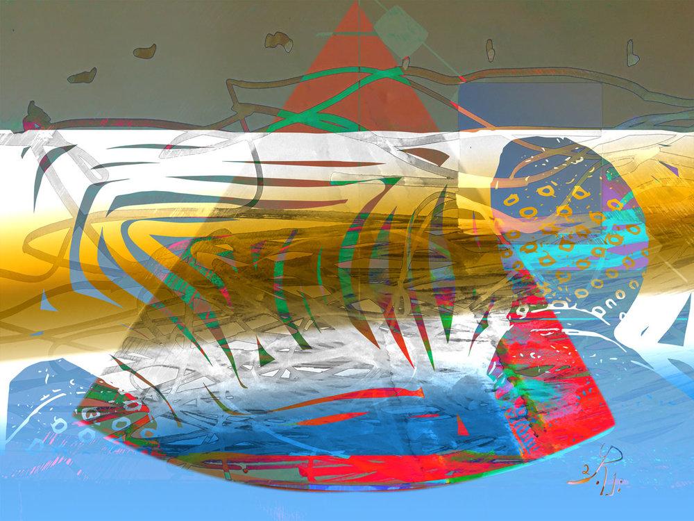 Submerged  (Sumergido)  Pigment Print, 37,5 x 50 cm