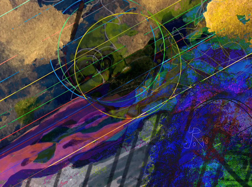 Lluvias torrenciales  Digital C-Print, 37 x 50 cm