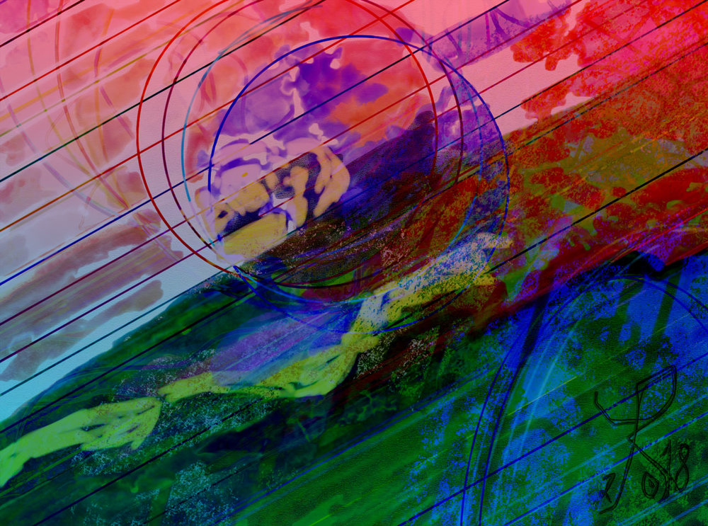 Global Warming   [Original title in Spanish:  Calentamiento global ] Digital C-Print, 37 x 50 cm