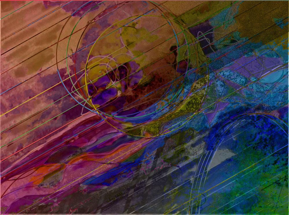 Sequía, fuego, inundación  Digital C-Print, 37 x 50 cm
