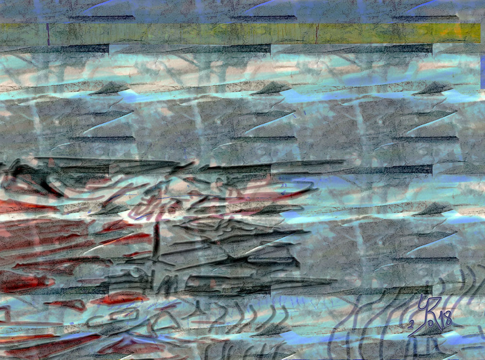 Granite  (Granito) Pigment Print, 52 x 70 cm  La realidad dura.