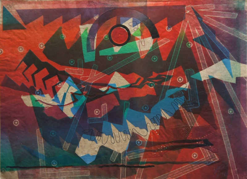 Anadarko   (1980), monoprint