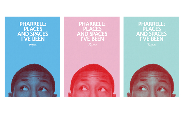 "Book covers of ""Pharrell: Places and Spaces I've Been"" (Courtesy: Rizzoli)"