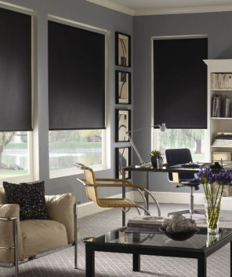 roller blinds in Resene colours