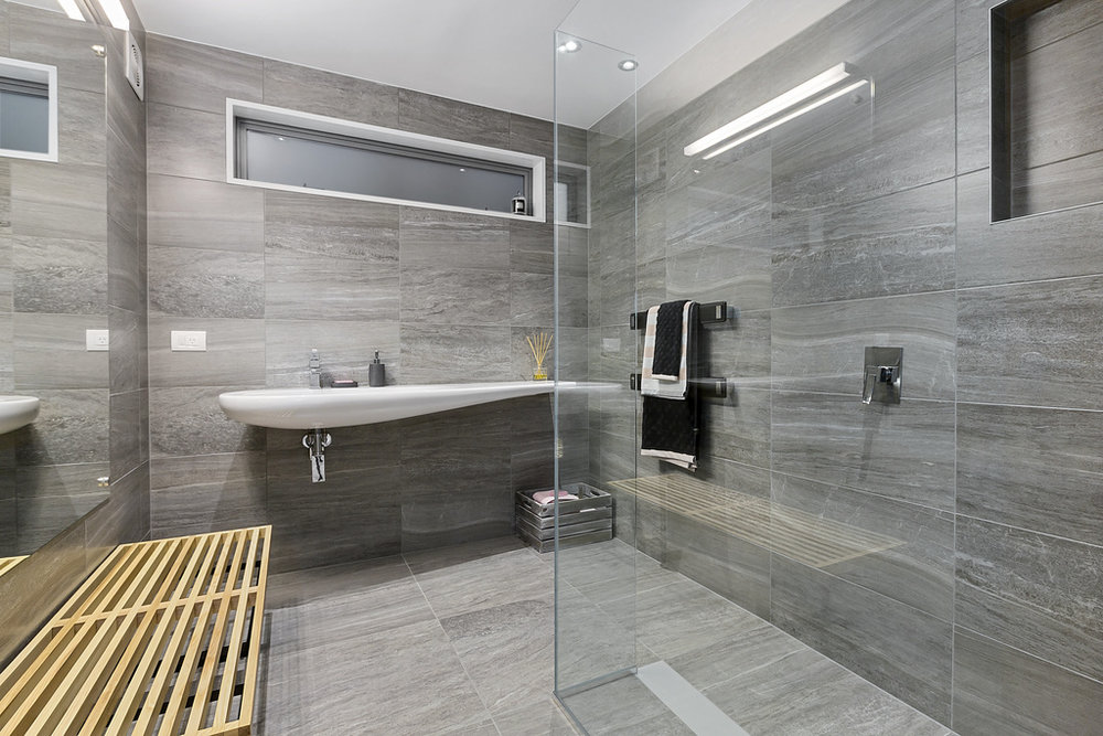 by using clear glass showers in small bathrooms you extend the perception of the floor area, they are much easier to maintain ensuring your spa experience will be well worth the investment