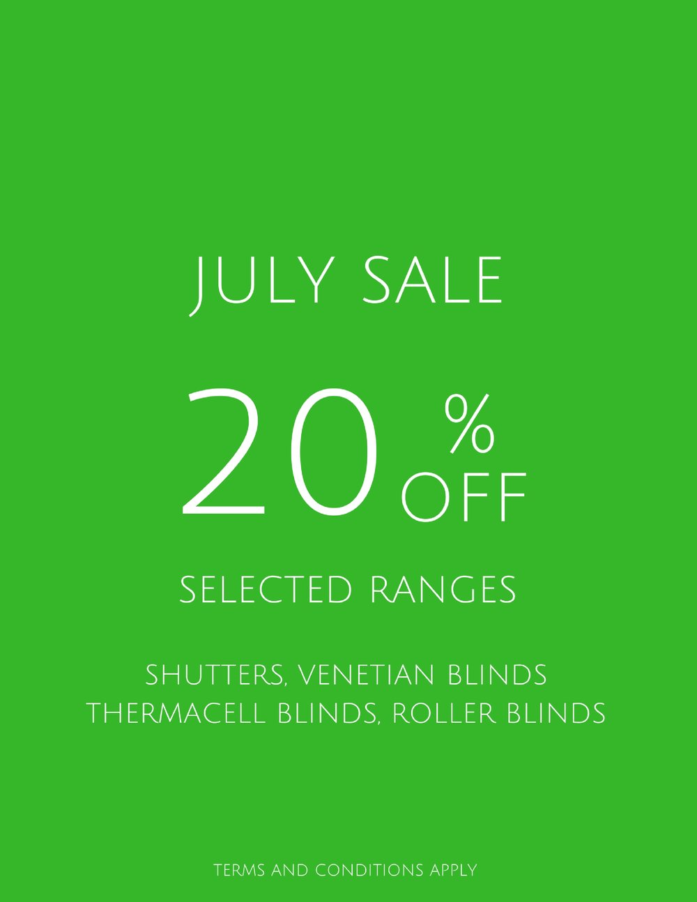 20% off-July-2017-Shutters-Blinds-call today-free meausre