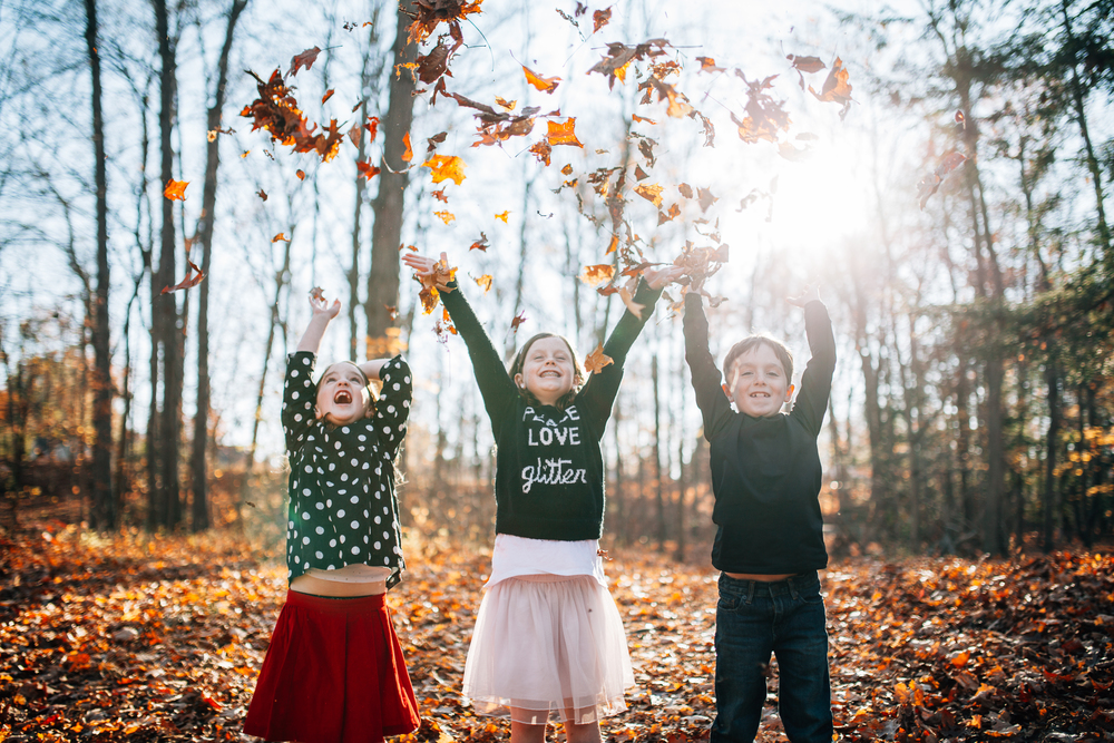 Carrie Hall Photography // Cleveland, Ohio Fall Family Sessions