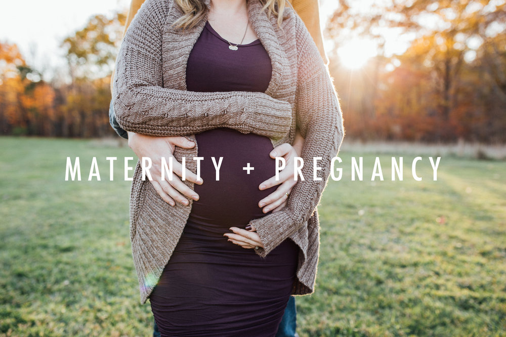 Carrie Hall Photography // CLEVELAND, OHIO MATERNITY PHOTOGRAPHER