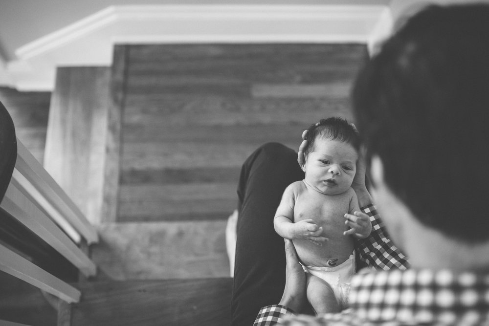 Northeast Ohio // Lifestyle Newborn Photographer // Carrie Hall Photography // Cleveland Heights, Ohio