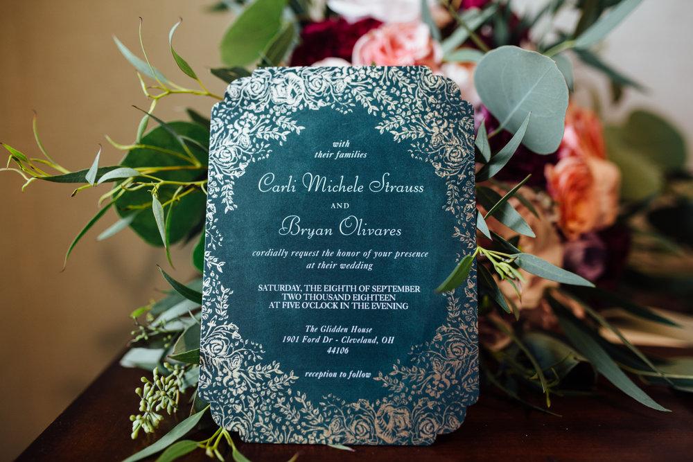 Carrie Hall Photography // Cleveland, Ohio  // Wedding Photographer // Glidden House