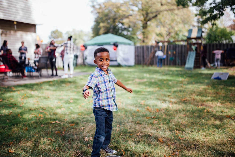 Carrie Hall Photography // Children and Family Photographer // Cleveland, Ohio // Birthday Parties