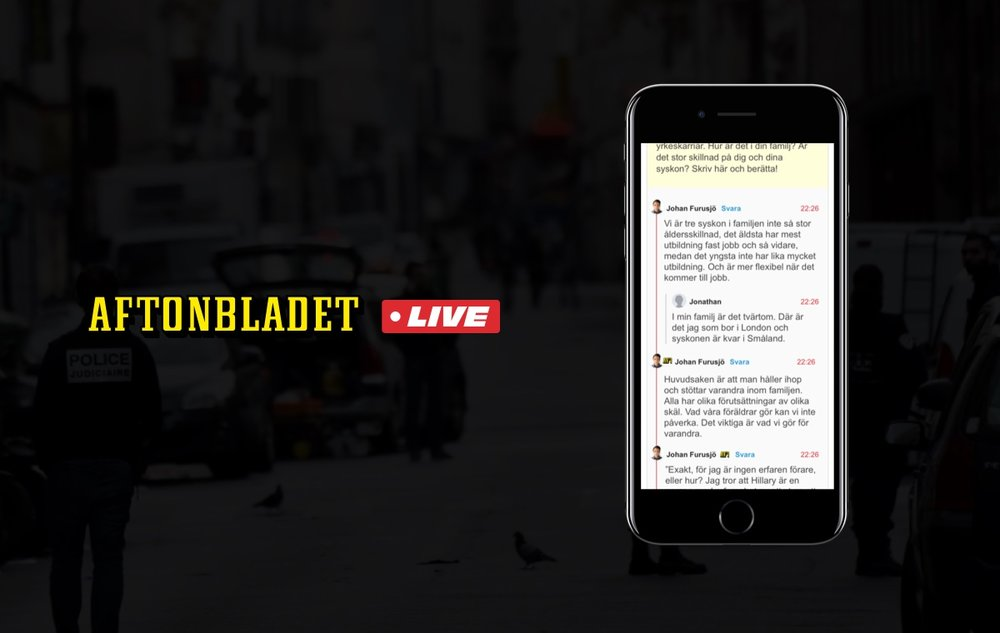 Aftonbladet Live - Redesigning Sweden's primary news source with help of the 'Google Design sprint'