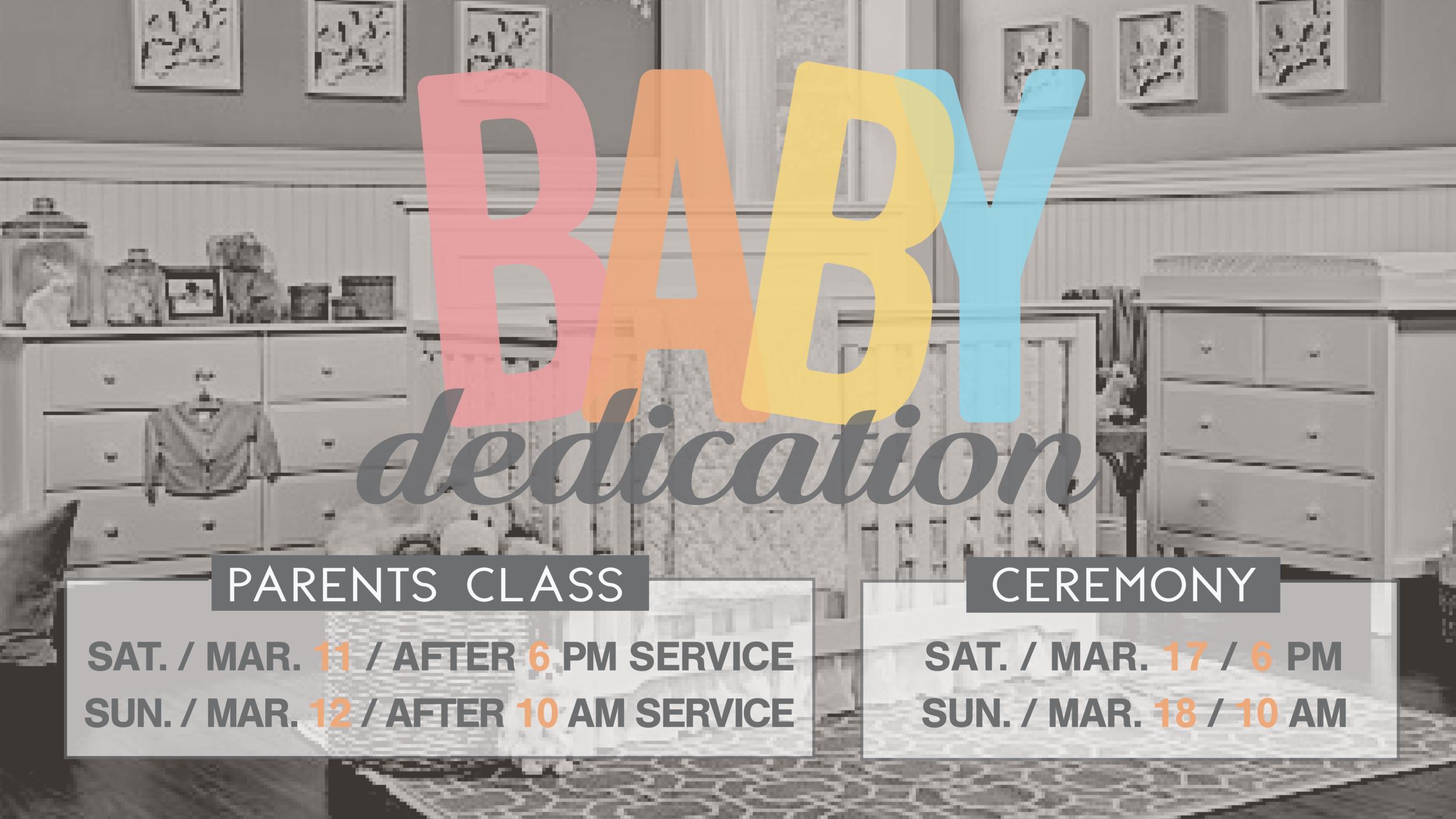 Baby Dedications Abundant Life Church