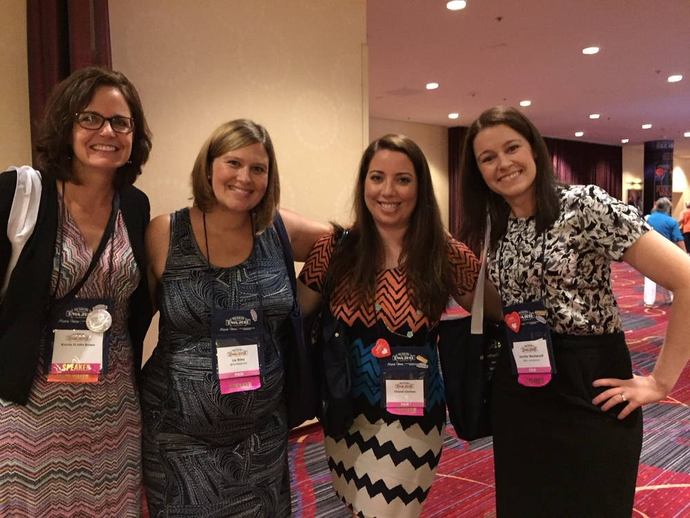 4 out of 6 of our RWA panel So You've Written a Book, Now What?Me, Lia Riley, Chanel Cleeton, Jennifer Blackwood