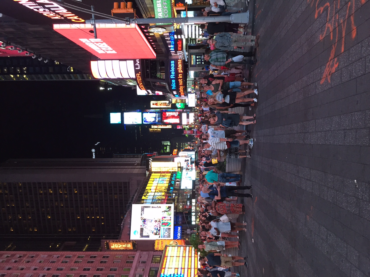 Times Square is insane.