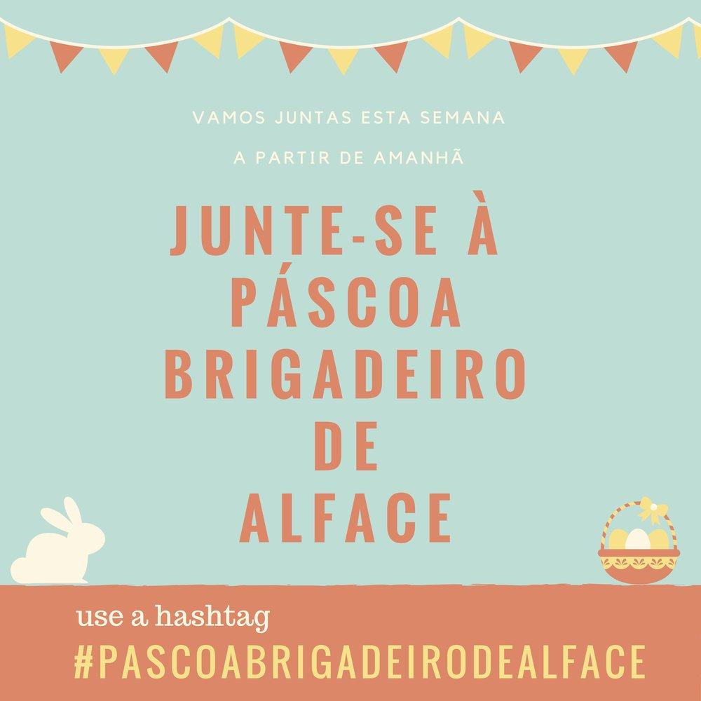 Como sobreviver à Páscoa sem se acabar no chocolate #pascoabrigadeirodealface