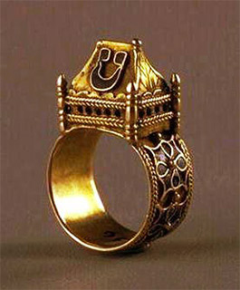 Genial Jewish Marriage Ring