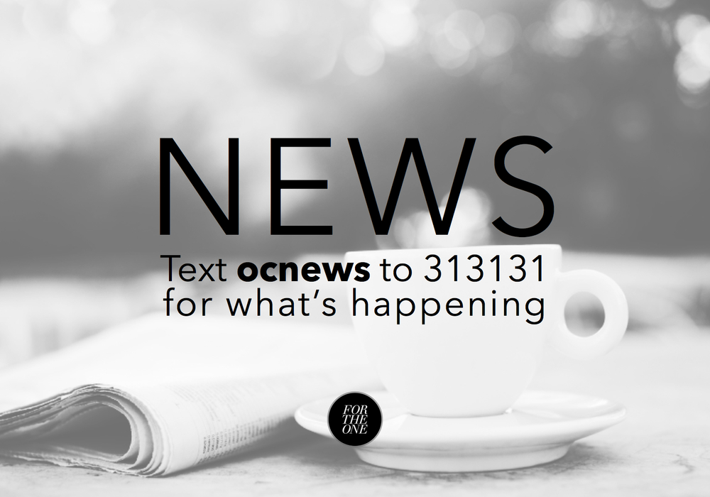 Stay up to speed with stuff going on around ONEchapel.