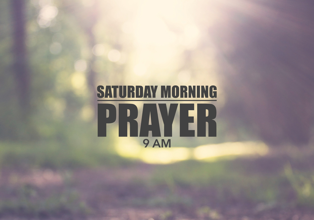 Pray with us on Saturday.