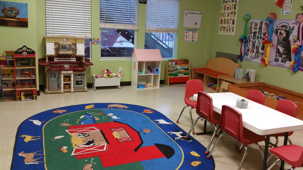 Clean, safe, and fun classroom environments for preschool students.