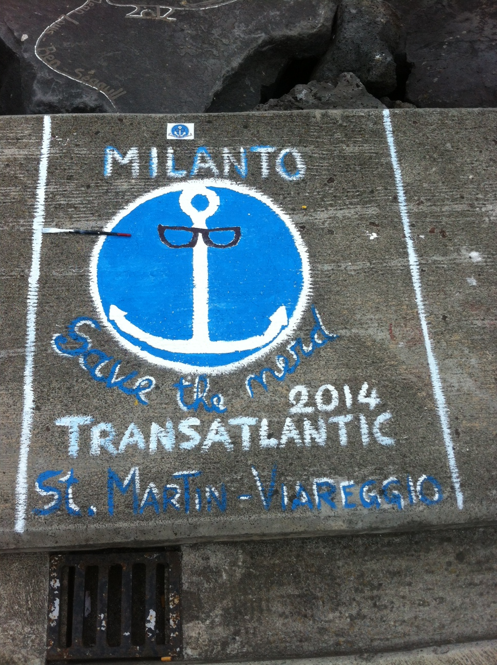 Save the Nerd forever at Ponta Delgarda -thanks to the artistic efforts of the Milanto crew.