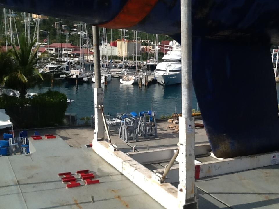 VIEW OF THE MARINA AT CHARLOTTE AMALIE