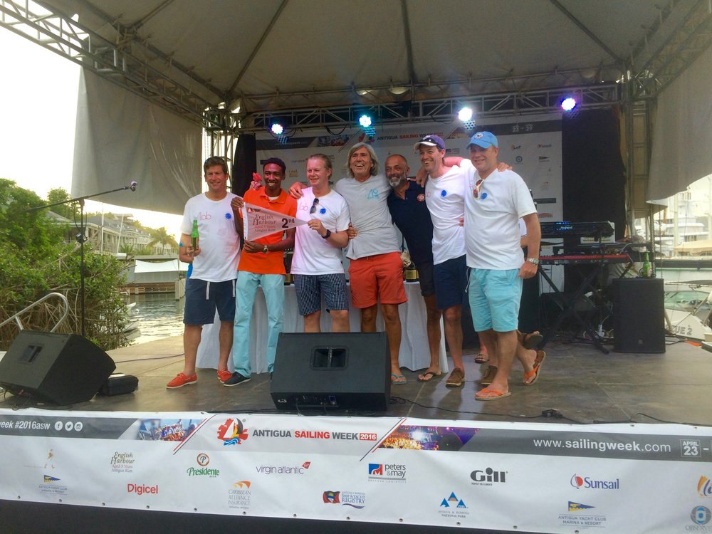 HEROS OF THE DAY  - BEST SWAN in ANTIGUA SAILING WEEK + 3rd IN CLASS!