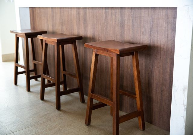 Bar stools for days! Check out our modern bar stool designs on our website. Link in bio 😉