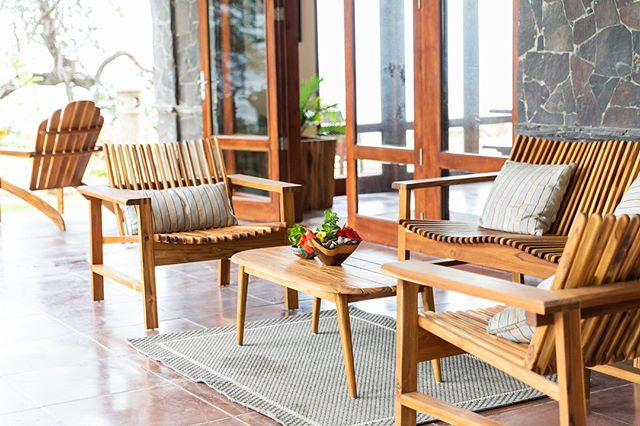 The Verbena Teak Collection is perfect for outdoors, indoors, or both! It's resilient teak, handcrafted beautifully to look elegante and timeless. And trust us, they are incredibly comfortable. We had professional weekenders confirm it 🙃