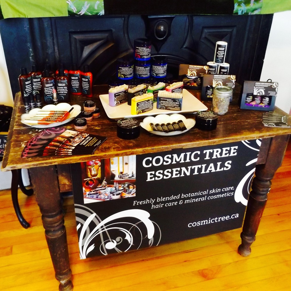 Cosmic Tree Essentials at Fundy Treasures Gifts and Tours
