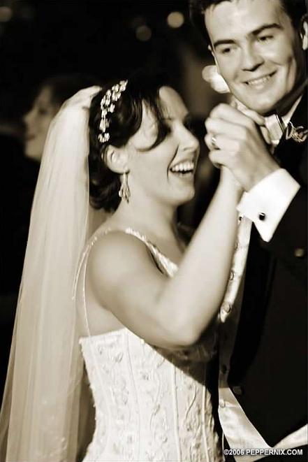 Photo courtesy of my awesome wedding photographer, Pepper Nix.