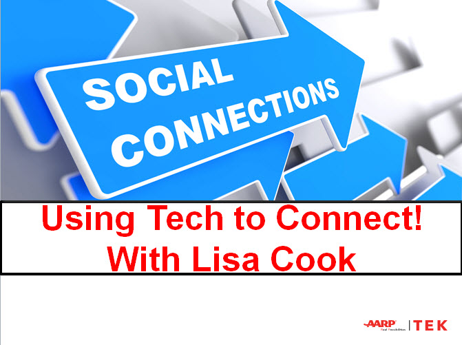 Webinar: Using Tech to Connect