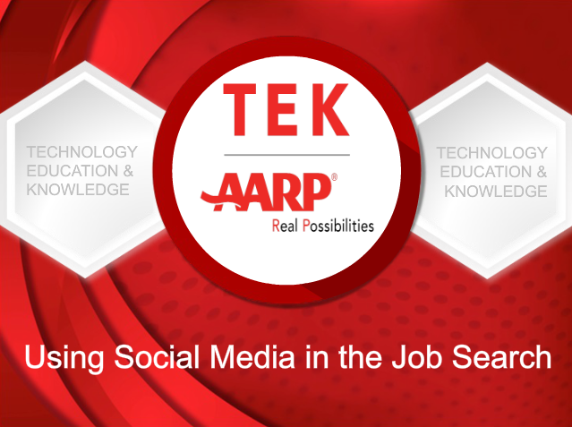 Using Social Media in the Job SearchThe job market has dramatically changed with the new technological advances in the last century.  Jen Lee Reeves will show you how to stay competitive by utilizing social media during your job search. -