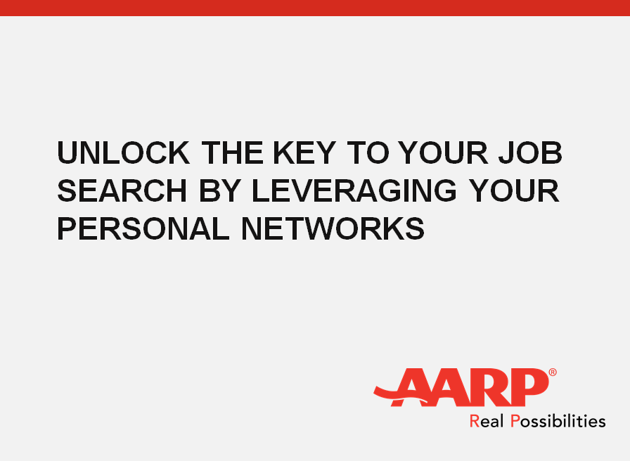 Unlock the Key to Your Job Search by Leveraging Your Personal Network
