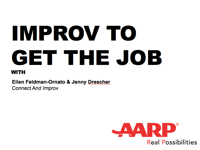Improv to Get the JobCreate genuine connections more easily and confidently by learning basic improv skills. You'll learn how to use humor and fun to engage with others and become more warm and natural in interactions for greater impact on job interviews. -