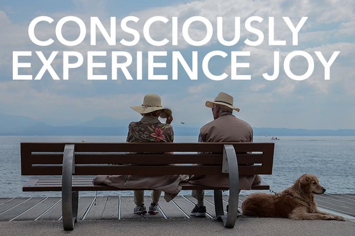 Consciously Experience Joy
