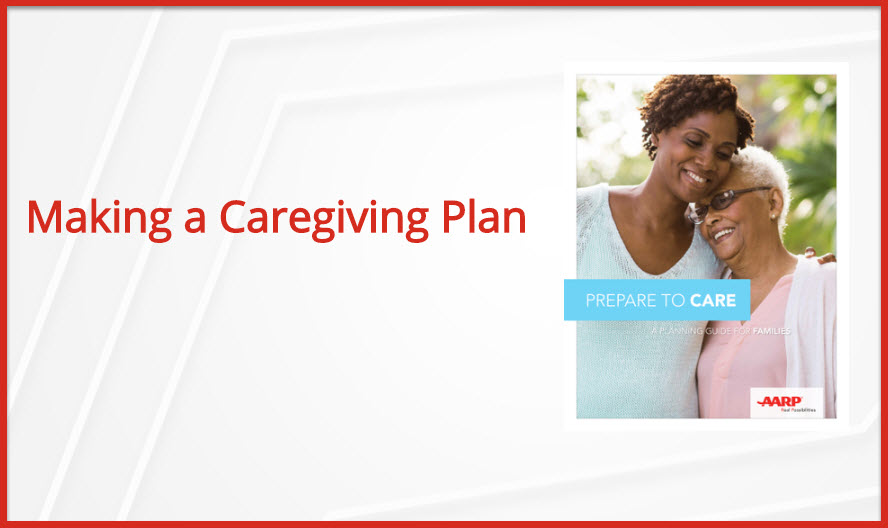 Making a Caregiving Plan
