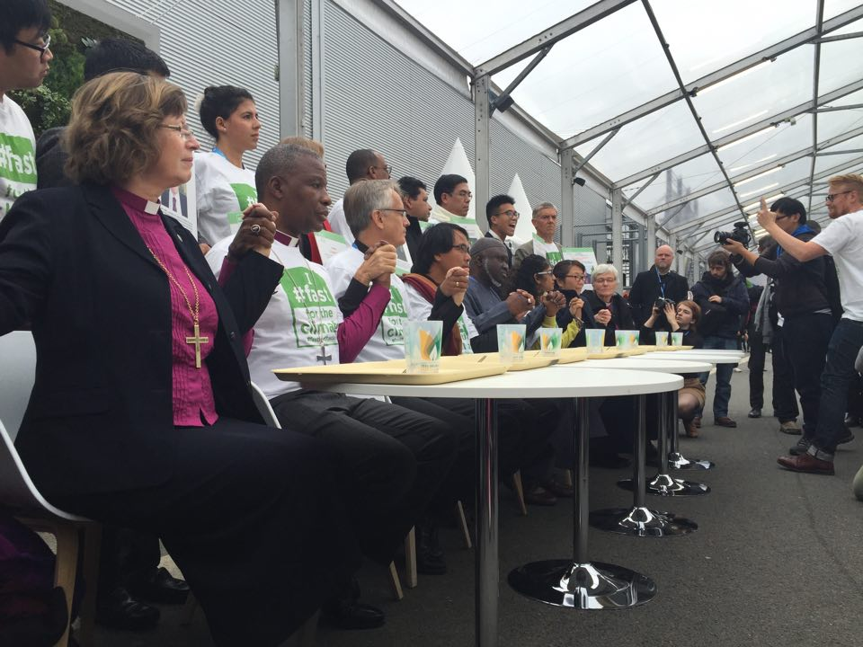 COP21 Paris Fast for the Climate Action