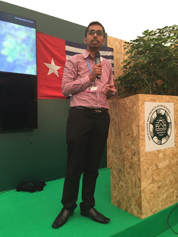 Krishneil Narayan PICAN coordinator