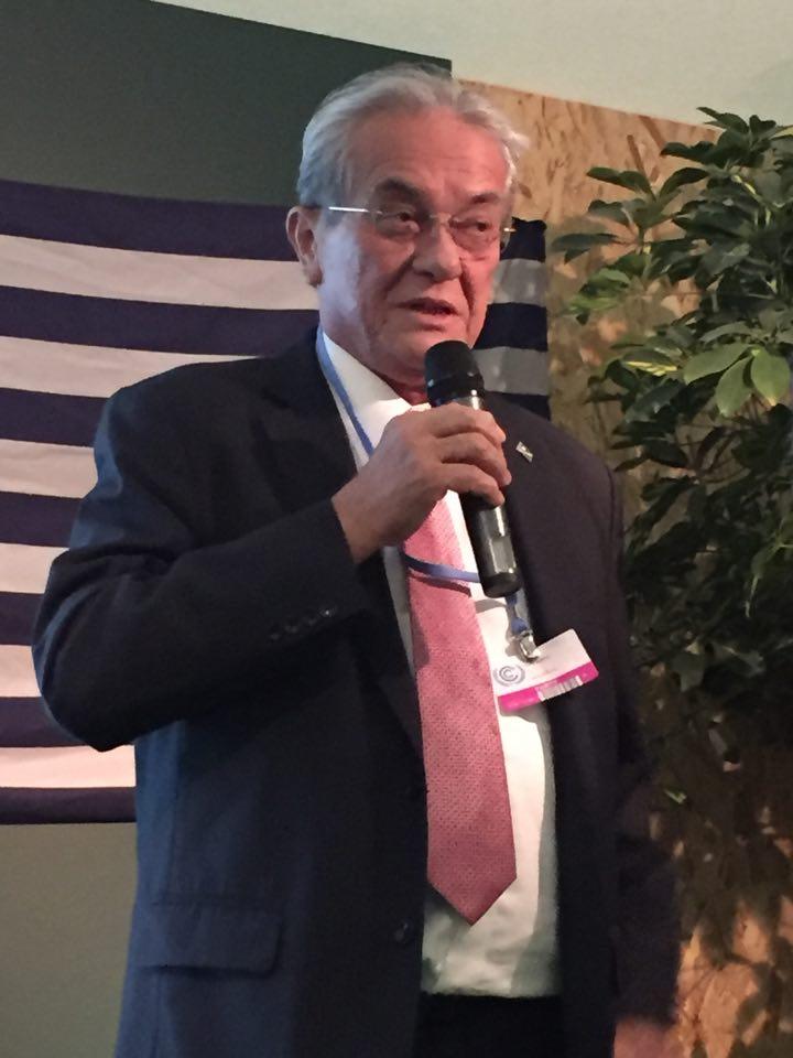 Marshallese Foreign Minister Tony de Brum