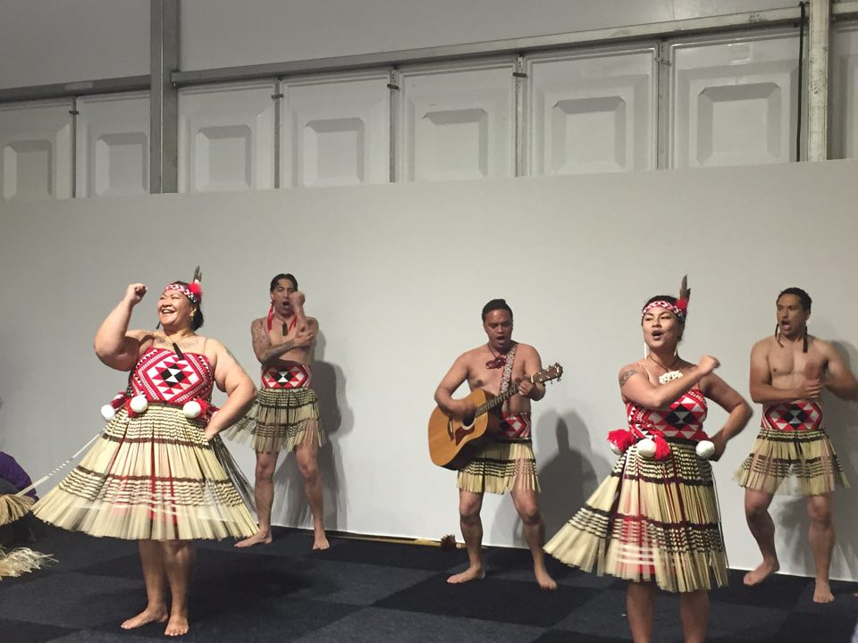 Mau te aroha close off the Pasifika Indigenous Launch