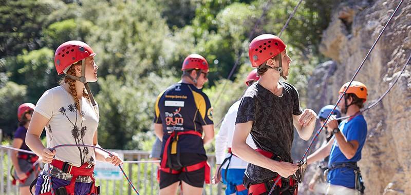 Outward Bound - rock climbing