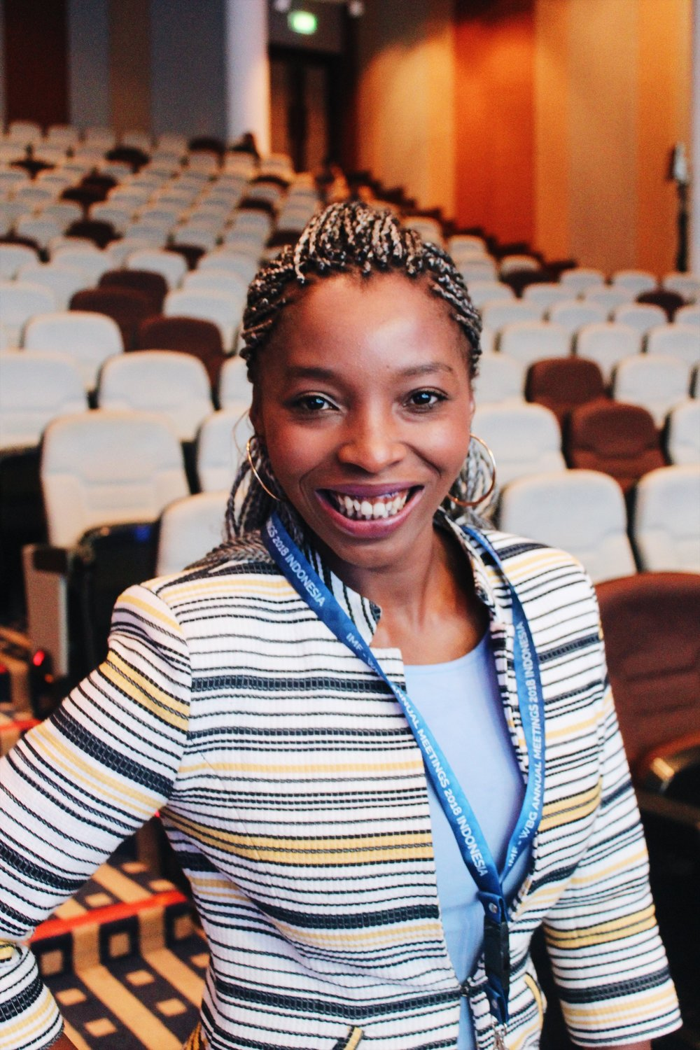 Anele Mkuzo-Magape, Founder of African Entrepreneurship Initiative, South Africa