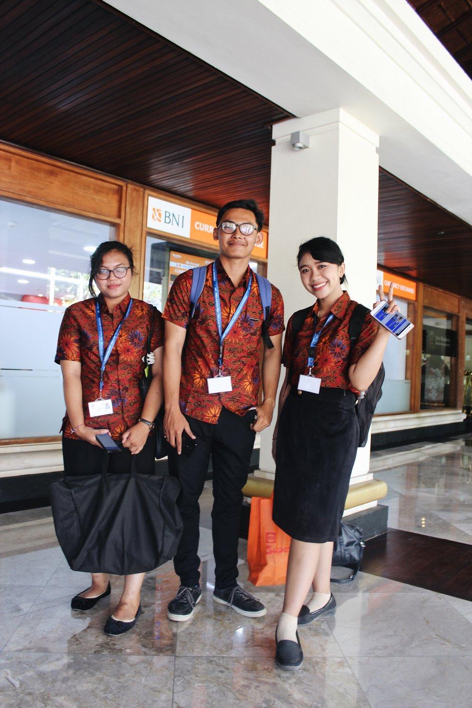 Balinese volunteers