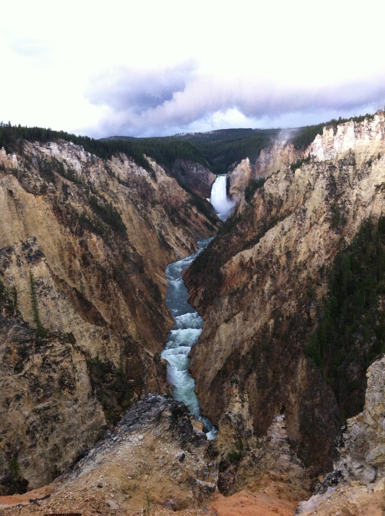 Yellowstone Grand Canyon    Just spent a week out west in the never ending quest for  landscape cutis anserina.  The trip was an awe inspiring exploration of the Tetons and Yellowstone that left me with hundreds of new ideas and creative inspirations.    iphone photography (if I can call it that)   July 2012