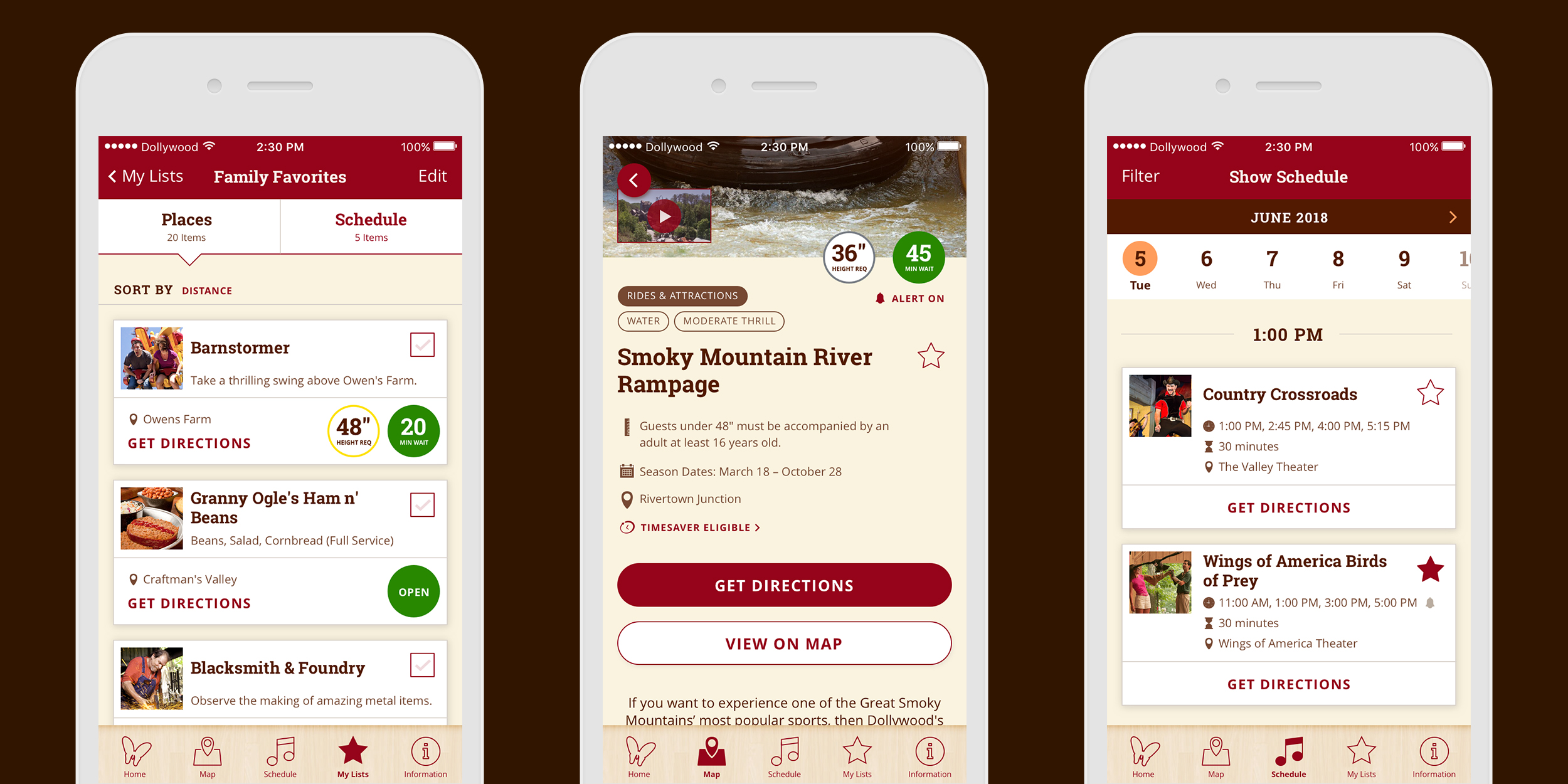 dollywood park app — jenn giesler