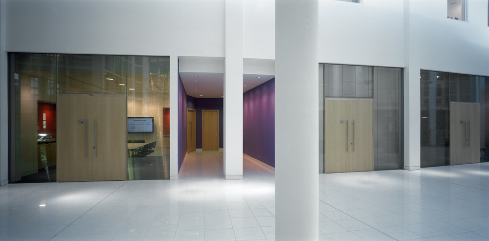 NHBC atrium meeting room fronts.JPG