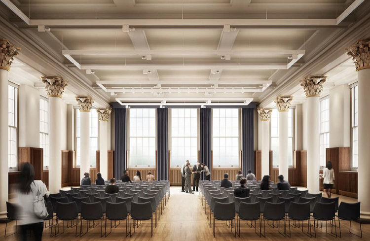 KINGS COLLEGE LONDON DIVERSE INTERIOR ARCHITECTURE