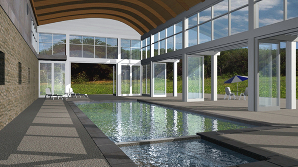 Poolhouse Rendering